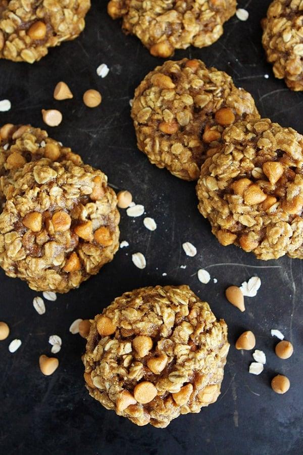 Brown-Butter-Pumpkin-Butterscotch-Oatmeal-Cookies