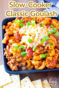 Slow-Cooker Classic Goulash