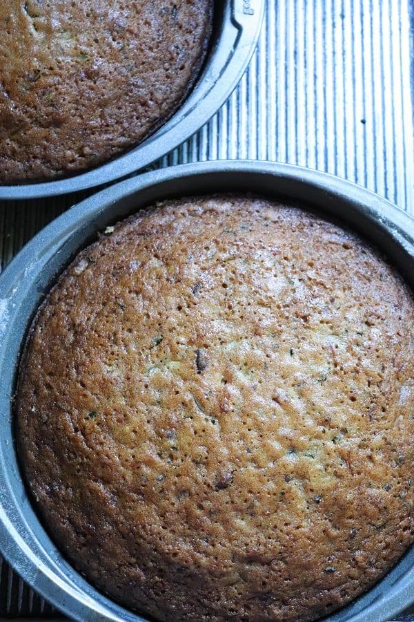 Zucchini Cake Process-15
