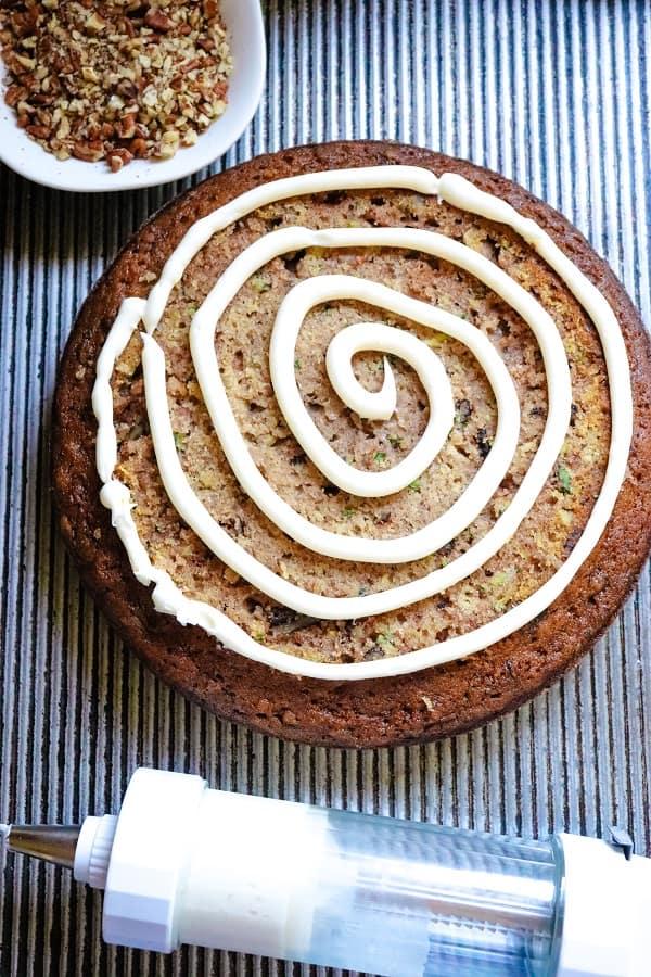 Zucchini Cake Process-18