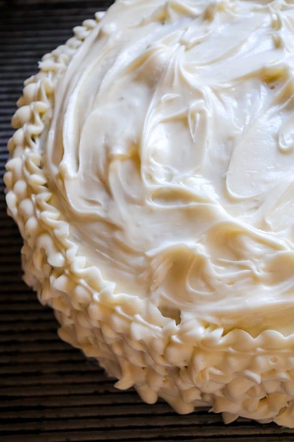 Zucchini Cake Process-21