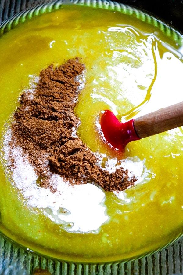Zucchini Cake Process-3