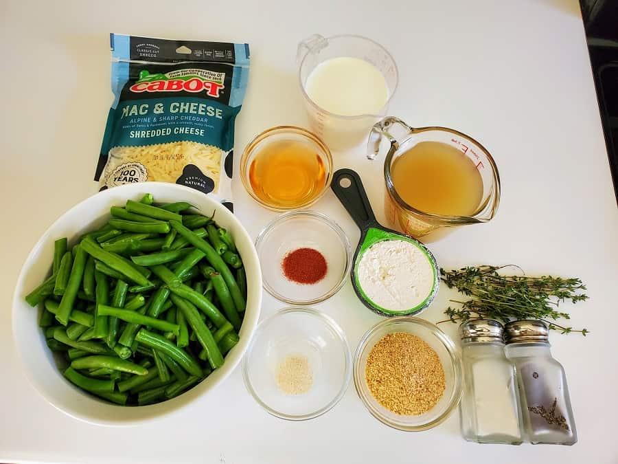 Holiday Green Bean Casserole