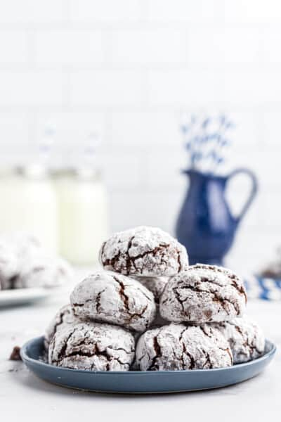 Brownie Crinkle Bites