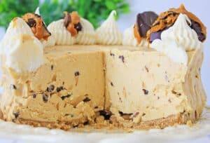 Creamy Peanut Butter Cheesecake