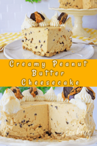 Creamy Peanut Butter Cheesecake