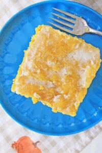 Crock Pot Maple Pumpkin Honey Bun Cake