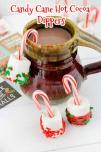 Candy Cane Hot Cocoa Dippers