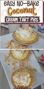 No Bake Coconut Pies