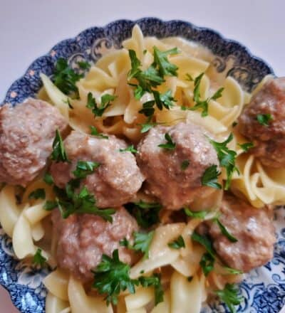 slow cooker swedish meatballs