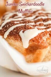 Jumbo Snickerdoodle Muffins