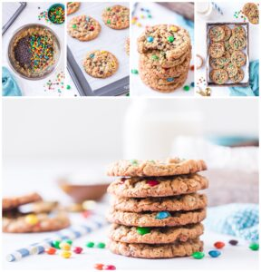 Monster Cookies Collage