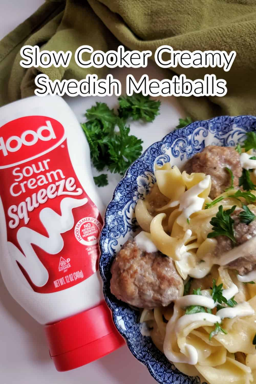 Slow cooker Creamy Swedish Meatballs are an easy and satisfying meal to make for any day of the week. Slow Cooker Creamy Swedish Meatballs are like a traditional Swedish dish with perfectly browned, flavorful homemade meatballs coated in a rich cream sauce that is slow-cooked. The rich creamy sauce enhances the flavor of the meatballs and is tender with every bite. via @Mooreorlesscook