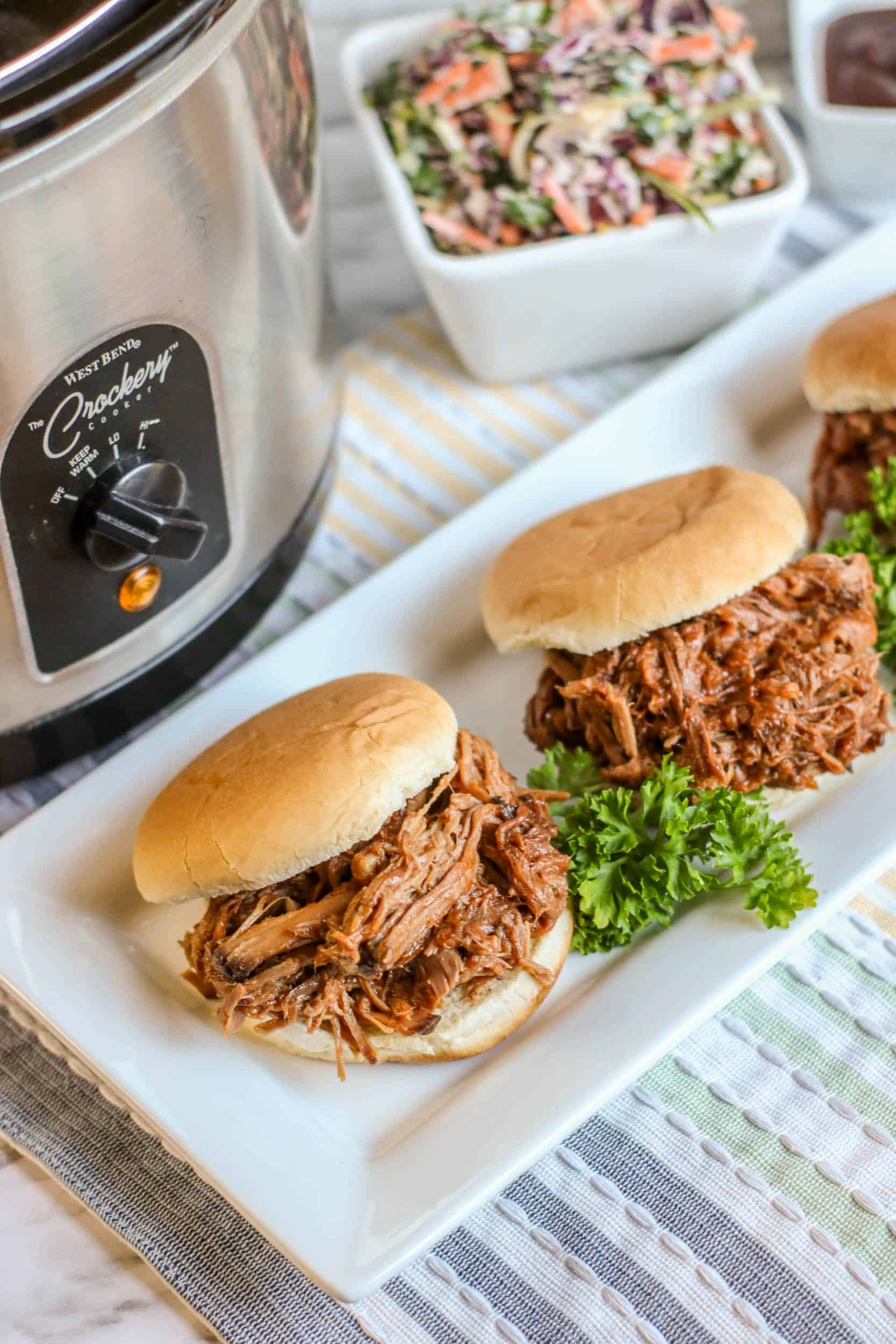 Slow Cooker Barbecue Beef Sample