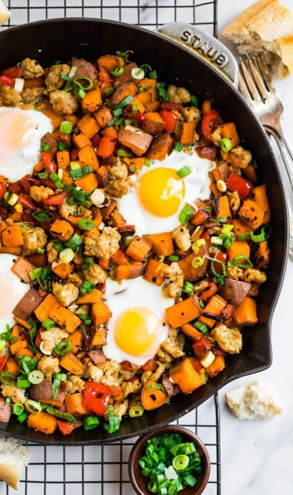 Sweet-Potato-Hash-with-Eggs-and-Sausage-600x1013
