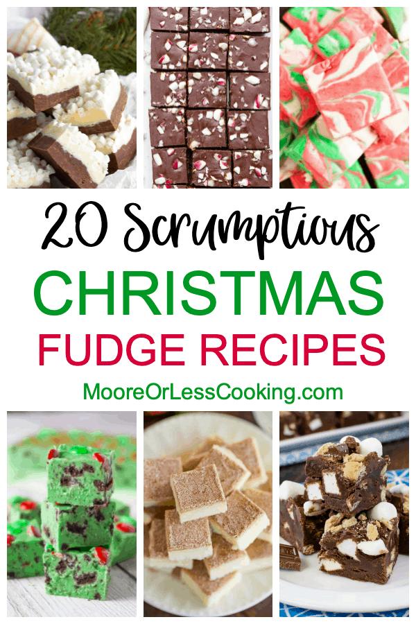 20 Scrumptious Christmas Fudge Recipes