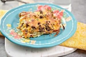 Low Carb Italian Beef and Cabbage Casserole