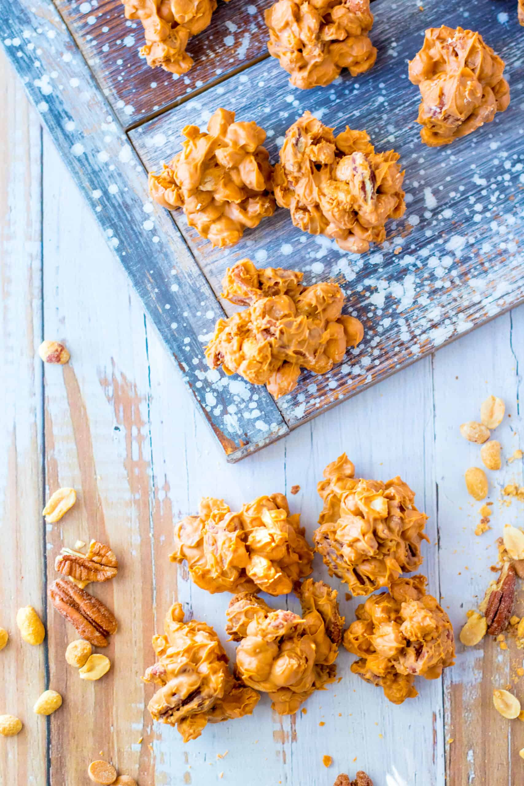 Slow Cooker Butterscotch Nut Clusters -3 (1)