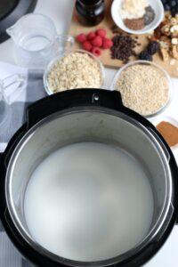 full shot of an instant pot