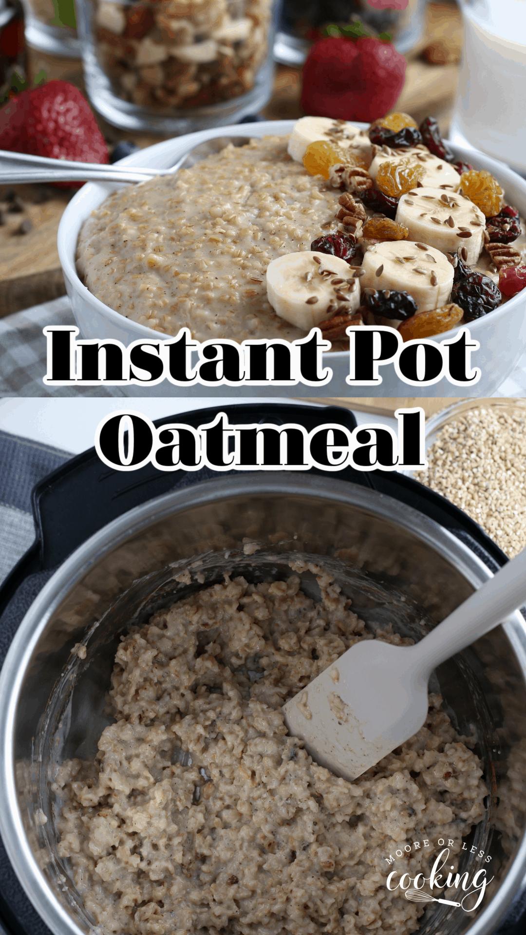 Instant Pot Oatmeal pn