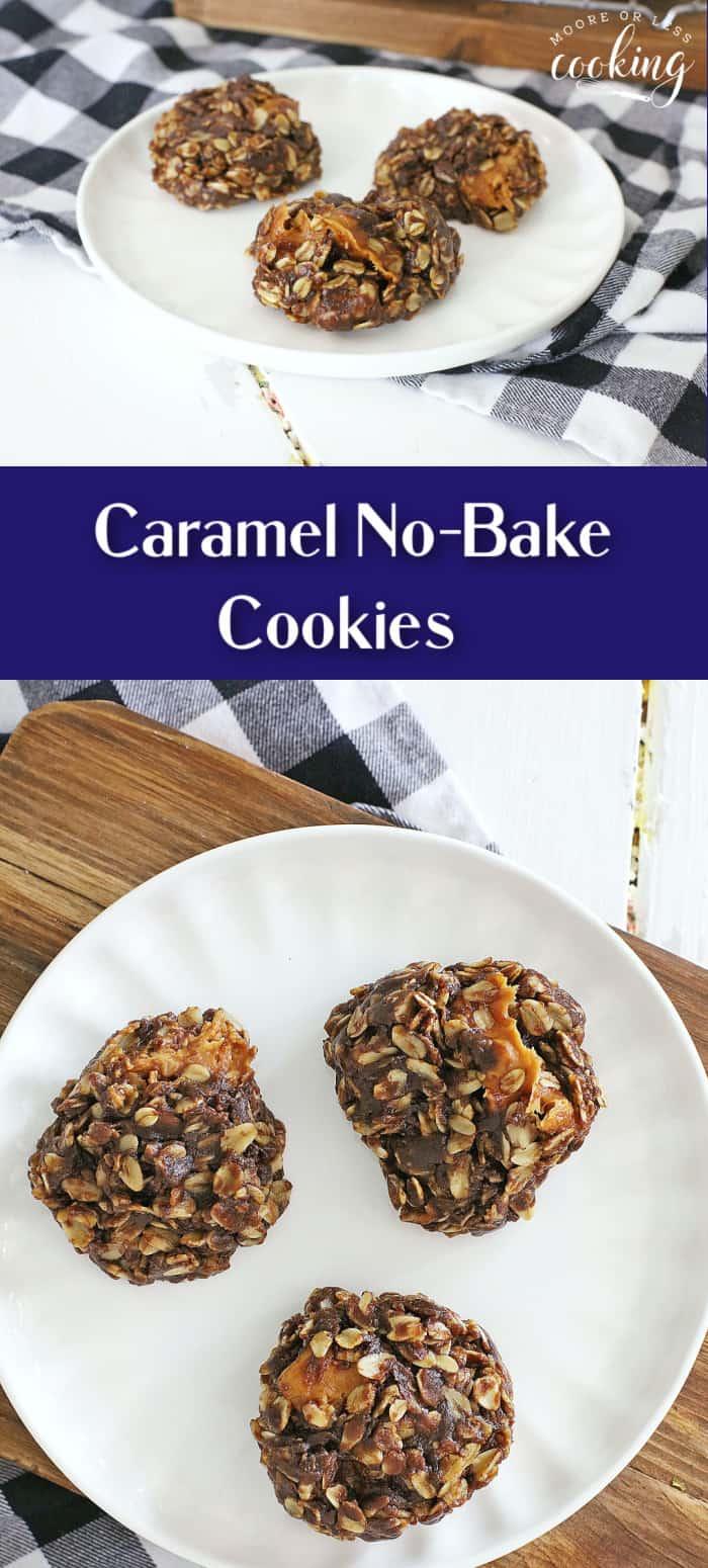 Pin caramel no bake cookies