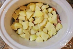 potatoes added