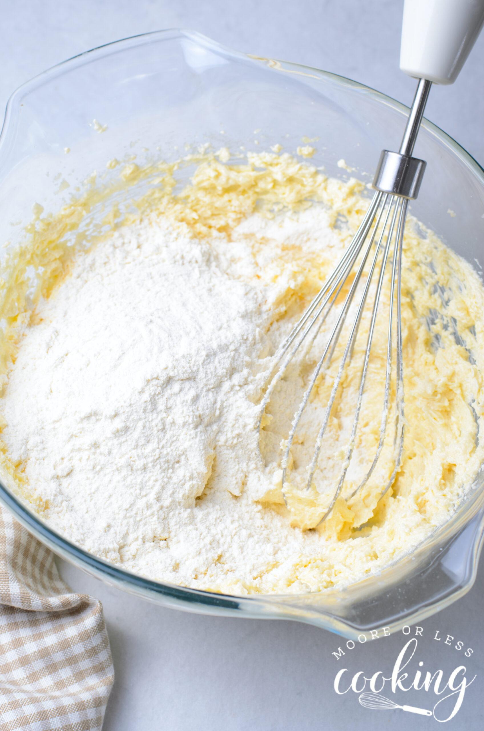 mixing ingredients