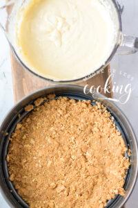 making the crust