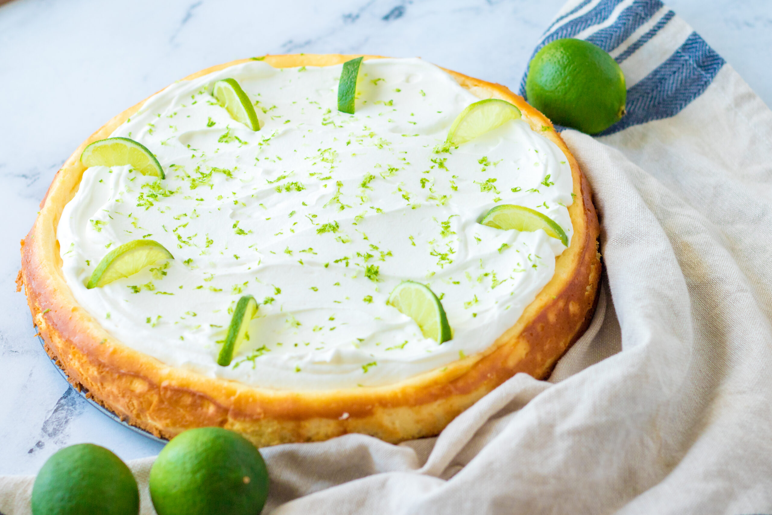 key lime cheesecake full