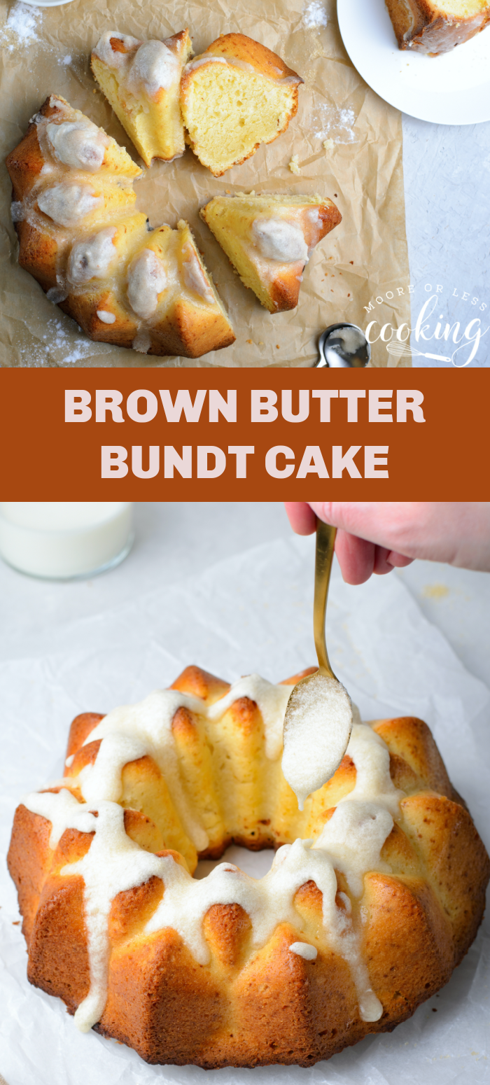 pin one brown butter bundt cake