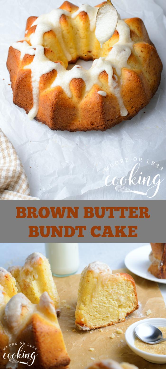 pin brown butter bundt cake