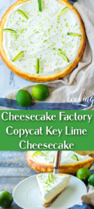 key lime cheesecake one