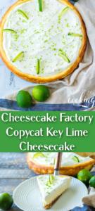 key lime cheesecake one