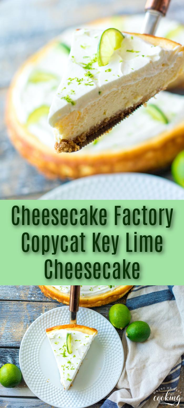 key lime cheesecake three