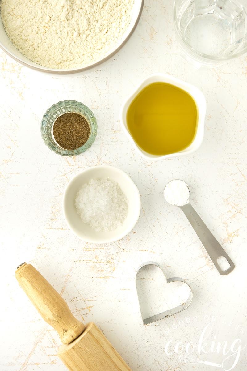 ingredients golden crispy olive oil and sea salt crackers